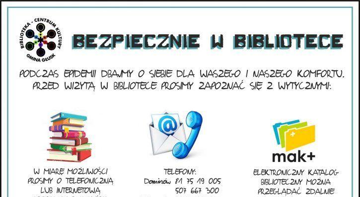 BEZPIECZNIE W BIBLIOTECE