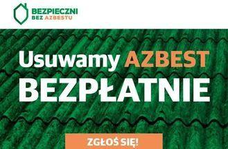 Usuwamy azbest