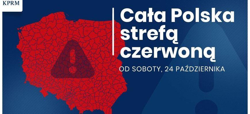 baner- cała polska strefą czerwoną