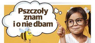 Plakat - Dziewczynka z pszczołą