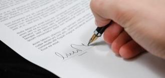 Osoba podpisująca dokument