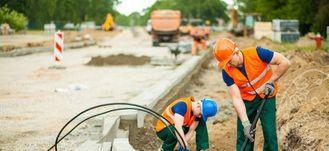 Robotnicy na drodze