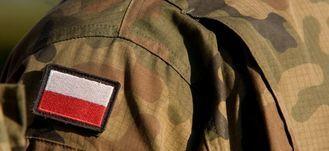 Flaga Polski na mundurze