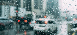 deszcz na szybie