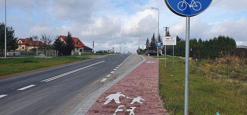 Ścieżka piesza i rowerowa
