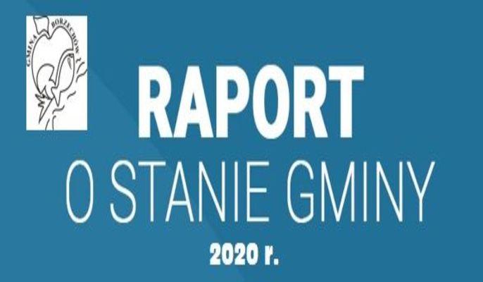 Raport o stanie Gminy Borzechów za rok 2020