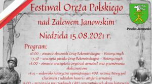 Festiwal Oreża Polskiego nad Zalewem Janowskim