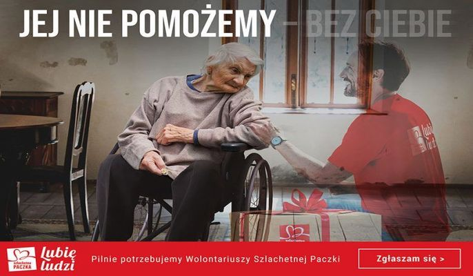 Szlachetna Paczka pilnie poszukuje wolontariuszy!