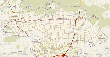 Zrzut ekranu e-mapy