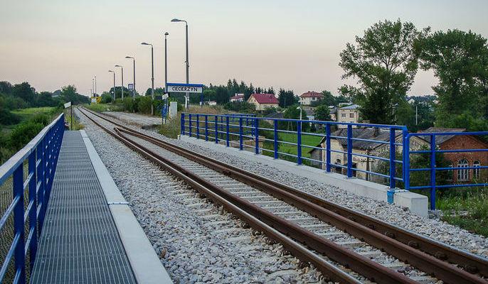 Stacja kolejowa ciecierzn