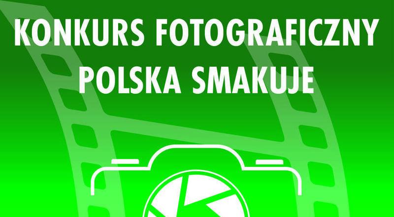 Napis na zielonym tle - Konkurs fotograficzny Polska Smakuje