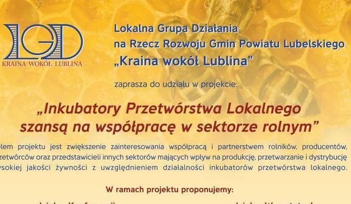 Zaproszenie do udziału w projekcie LGD Kraina Wokół Lublina
