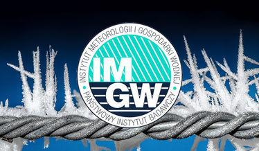 Grafika ogólna - silny mróz IMGW
