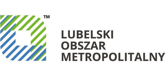 Zdjęcie przedstawia logo Lubelskiego Obszaru Metropolitalnego