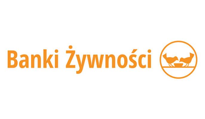 Na zdjęciu logo i napis Banki Żywności