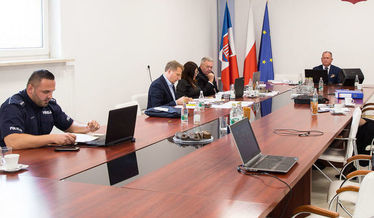 Na zdjęciu sala konferencyjna podczas obrad