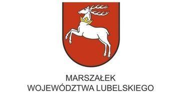 Logo- Marszałek Województwa Lubelskiego