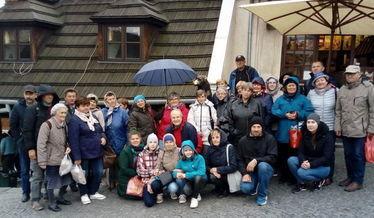 Zdjęcie grupowe uczestników wycieczki