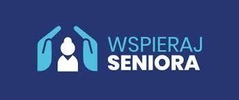 Grafika wspieraj seniora- logo akcji