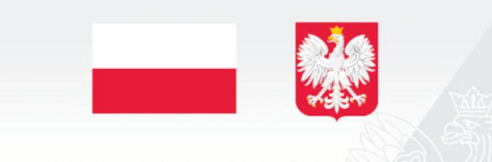 Flaga polski i godło