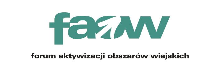Logo: faow forum aktywizacji obszarów wiejskich