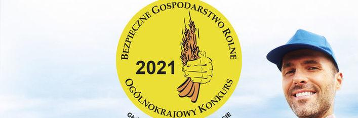 Logo konkursu i głowa rolnika