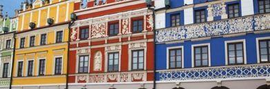 Kamienice kolorowe