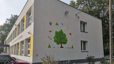 budynek szkoły w Tuszowie