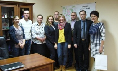 Wizyta delegacji z Ukrainy w Jabłonnie