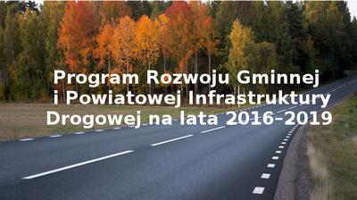 Dofinansowanie na budowę drogi