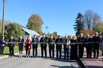 Uroczyste otwarcie drogi w Wierciszowie