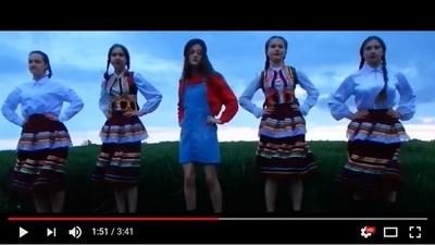 Dziewczyny z Jabłonny nagrały teledysk