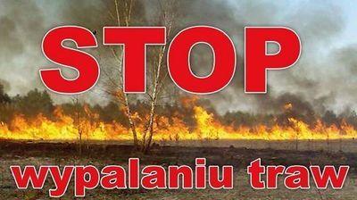 STOP wypalaniu traw!