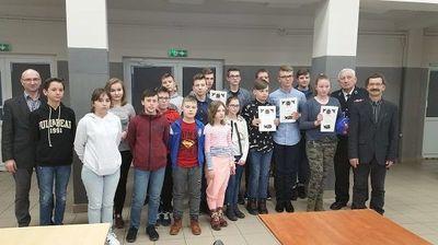 """Ogólnopolski Turniej Wiedzy Pożarniczej """"Młodzież Zapobiega Pożarom"""" - etap gminny"""