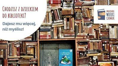 """Projekt """"Mała książka - wielki człowiek"""" w Bibliotece w Jabłonnie"""