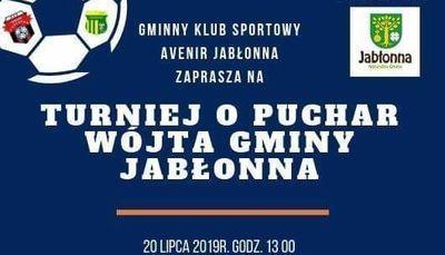 Turniej w piłkę nożną o Puchar Wójta Gminy Jabłonna