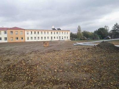 Budowa boisk sportowych przy Zespole Szkół w Jabłonnie