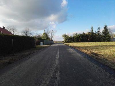 Trwa budowa drogi tzw. Czereśniowej w miejscowości Jabłonna Druga