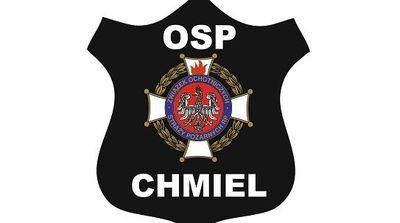 OSP Chmiel dziękuję za rok współpracy!