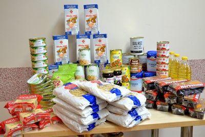 Pomoc żywnościowa - wydawanie produktów