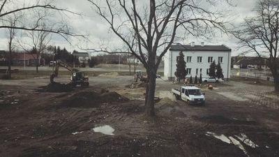 Rozpoczęły się kolejne inwestycje w centrum Jabłonny