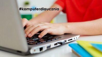 """Akcja """"Komputer dla Ucznia"""" w Gminie Jabłonna"""