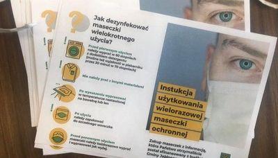 Maseczki dla mieszkańców Gminy Jabłonna   Gmina Jabłonna