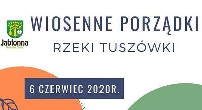 Wiosenne porządki w Tuszowie - sprzątanie Rzeki Tuszówki