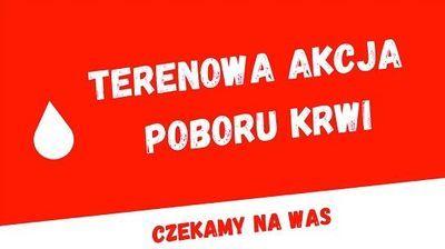 Terenowa Akcja Poboru Krwi w Chmielu!