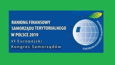 Wysokie wyniki Gminy Jabłonna w Rankingu Finansowym Samorządu Terytorialnego za 2019 rok