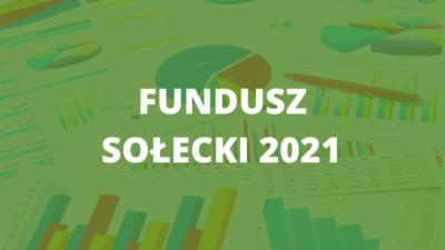 Fundusz sołecki na 2021 - harmonogram zebrań