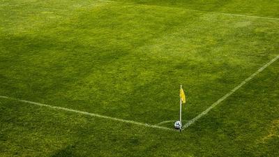 Fragment boiska sportowego