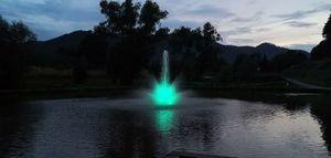 Nowa fontanna nad Zalewem