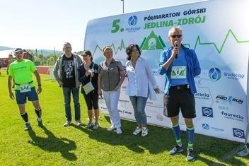 Kolejny 5. Wodociągi Półmaraton Górski Jedlina-Zdrój przeszedł do historii